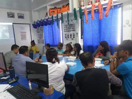 Emergency Meeting Pre-Disaster Risk Assessment with MDRRMC Culion MDRRM Operation Center